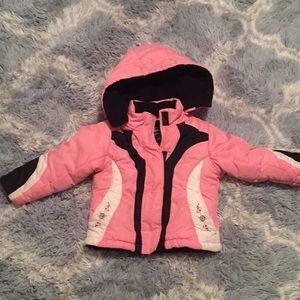 3t pink winter jacket!